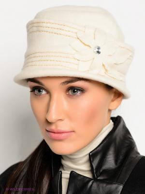 Шляпа Ваша Шляпка. Цвет: молочный