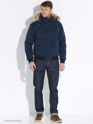 Куртка Eden Park. Цвет: синий