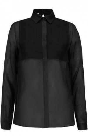 Блуза Rochas. Цвет: черный