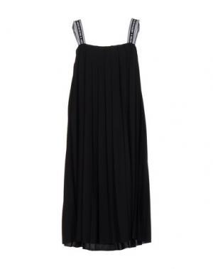 Короткое платье AMERICAN RETRO. Цвет: черный