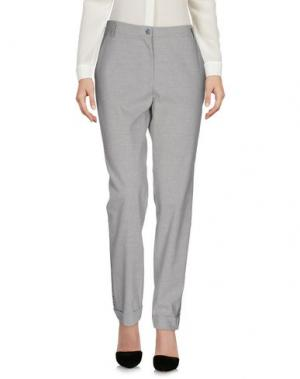 Повседневные брюки LA FABBRICA del LINO. Цвет: светло-серый