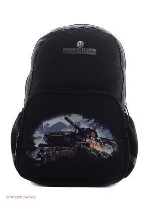 Рюкзак World of Tanks (WOT-SW-B6) MAXITOYS. Цвет: черный