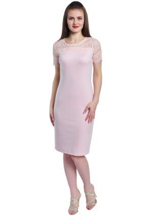 Платье Rise. Цвет: розовый (бледно-розовый)