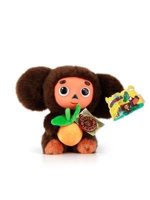 Мягкая игрушка  Чебурашка Мульти-пульти. Цвет: коричневый