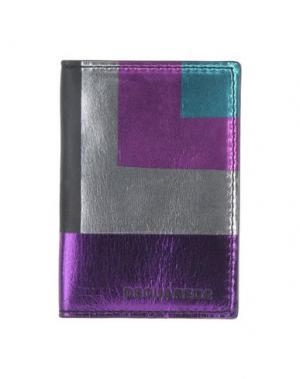 Чехол для документов DSQUARED2. Цвет: фиолетовый