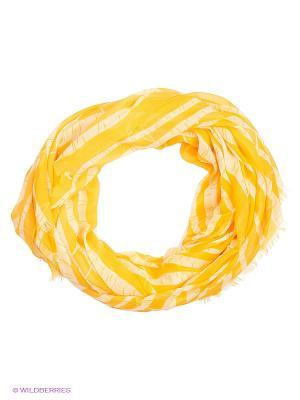 Палантин Moltini. Цвет: желтый