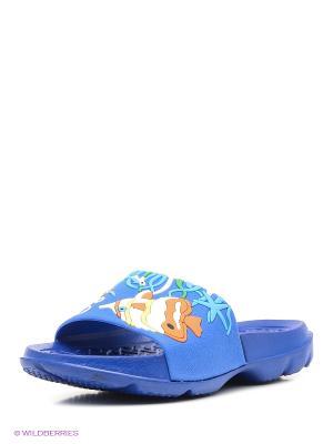 Шлепанцы Kapika. Цвет: синий
