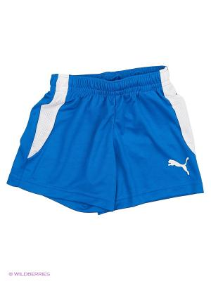 Шорты ftblTRG Jr Shorts Puma. Цвет: голубой