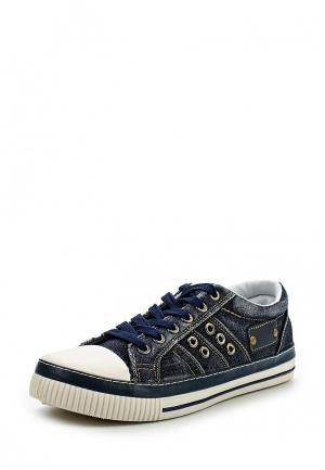 Кеды WS Shoes. Цвет: синий