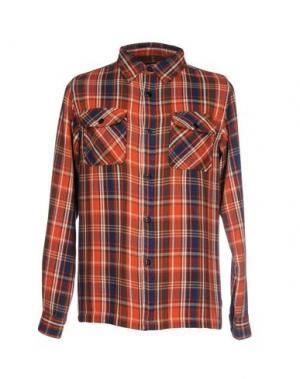 Pубашка UNDEFEATED. Цвет: оранжевый