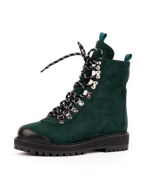 Ботинки SUMMERGIRL. Цвет: зеленый