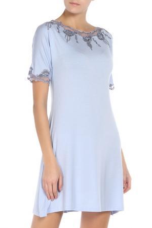 Ночная сорочка Exilia. Цвет: голубой(cielo)
