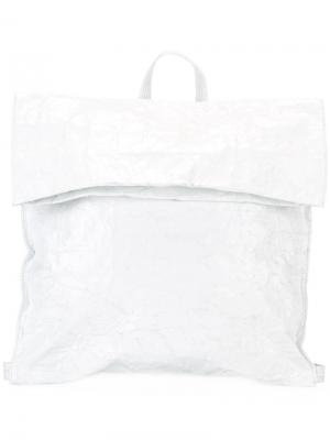 Рюкзак с откидным клапаном Zilla. Цвет: белый