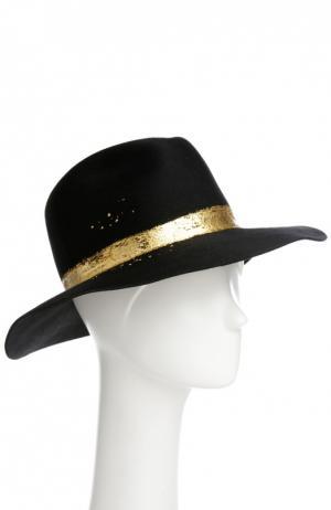 Шляпа Eugenia Kim. Цвет: черный