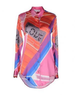 Pубашка LEITMOTIV. Цвет: светло-фиолетовый