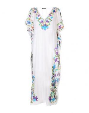 Длинное платье KAS NEWYORK. Цвет: белый