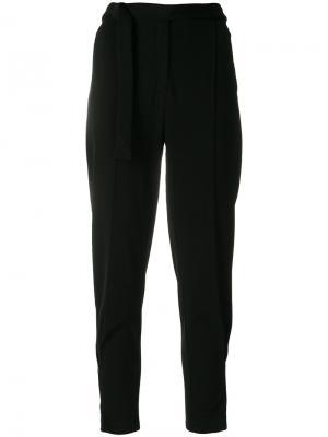 Зауженные брюки Humanoid. Цвет: чёрный