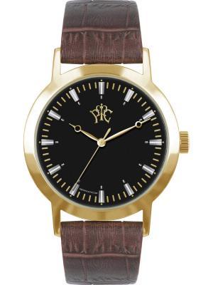 Часы РФС. Цвет: коричневый, черный