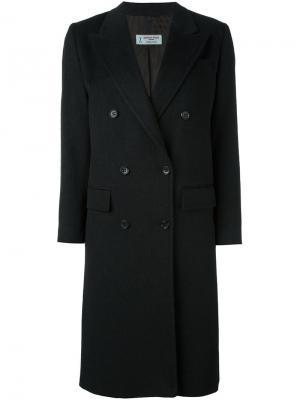 Двубортное пальто Alberto Biani. Цвет: серый