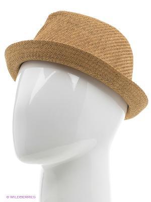 Шляпа Oodji. Цвет: темно-бежевый