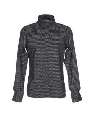 Pубашка HAMAKI-HO. Цвет: стальной серый