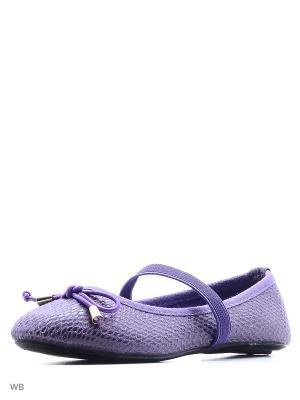 Балетки Modis. Цвет: фиолетовый