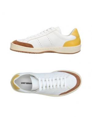 Низкие кеды и кроссовки UMIT BENAN. Цвет: белый