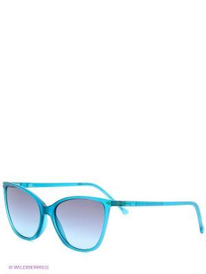 Солнцезащитные очки TM 015S 05 Opposit. Цвет: бирюзовый