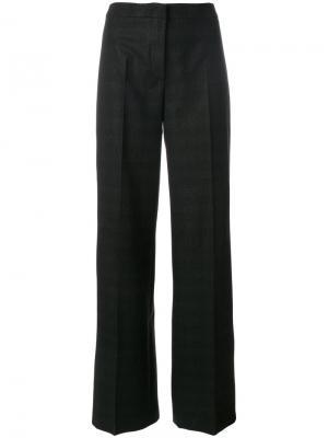 Расклешенные брюки Tonello. Цвет: серый