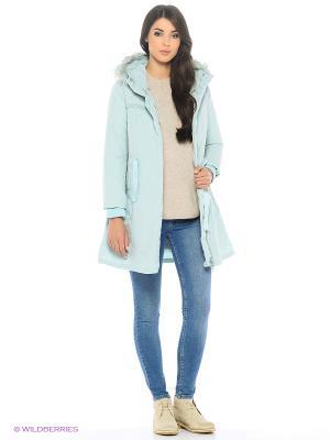 Куртка Befree. Цвет: светло-голубой