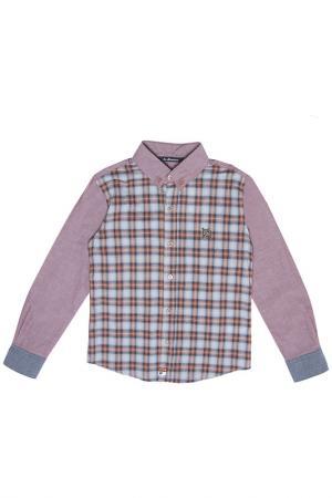 Рубашка La Miniatura. Цвет: коричневый