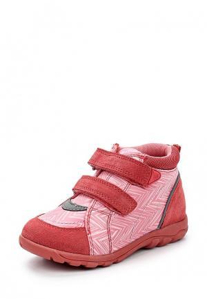 Ботинки Reima. Цвет: розовый