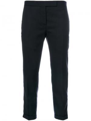 Укороченные брюки Thom Browne. Цвет: синий