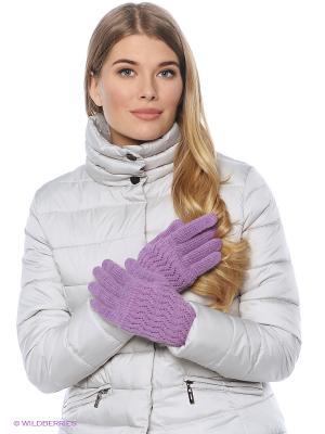 Перчатки FOMAS. Цвет: сиреневый