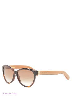 Солнцезащитные очки MARC JACOBS. Цвет: коричневый, бежевый