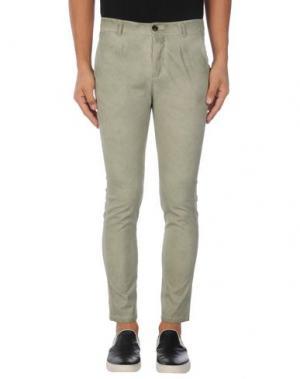 Повседневные брюки ONE SEVEN TWO. Цвет: светло-зеленый