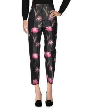 Повседневные брюки ROCHAS. Цвет: стальной серый