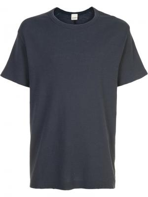 Plain T-shirt Baldwin. Цвет: синий