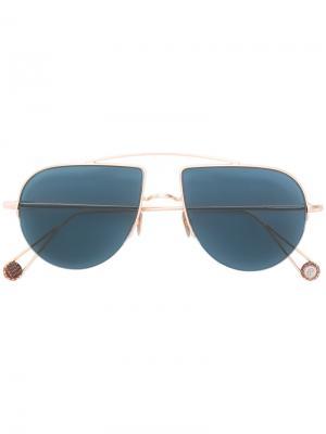 Солнцезащитные очки Place dAligre Ahlem. Цвет: металлический