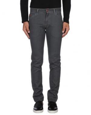 Джинсовые брюки HARMONT&BLAINE. Цвет: серый