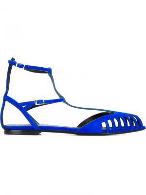 Сандалии Becky Giuseppe Zanotti Design. Цвет: синий