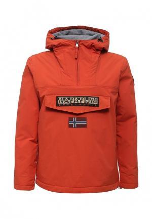 Куртка утепленная Napapijri. Цвет: оранжевый