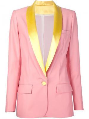 Пиджак-смокинг Miami Racil. Цвет: розовый и фиолетовый