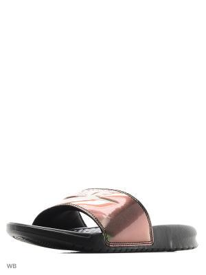 Шлепанцы WMNS BENASSI JDI PRINT Nike. Цвет: темно-зеленый