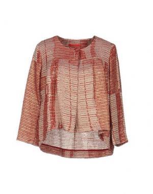 Пиджак MANILA GRACE DENIM. Цвет: кирпично-красный