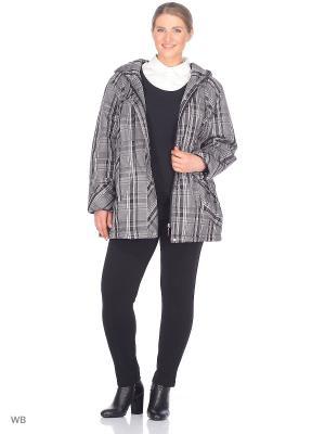 Куртка Салют VIKO. Цвет: черный, белый