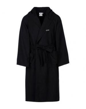 Банный халат SPEEDO. Цвет: черный