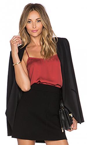 Блузка the cami LAcademie L'Academie. Цвет: красный