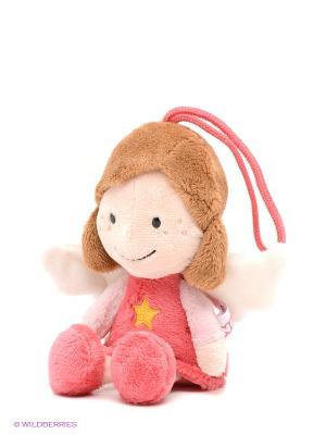 Мягкая игрушка Ангел-хранитель NICI. Цвет: коралловый, коричневый