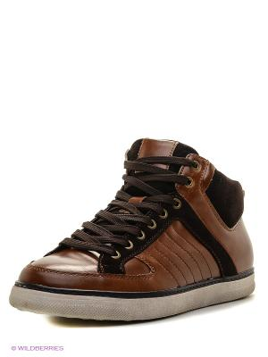 Кроссовки KEDDO. Цвет: коричневый